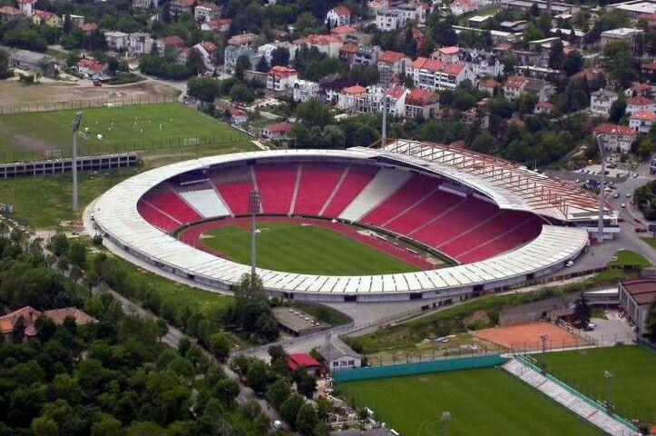 Red Star Stadium Belgrad
