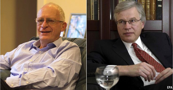 Oliver Hart and Bengt Holmstrom win the Nobel prize for economic sciences  - The pair helped the field understand how contracts work