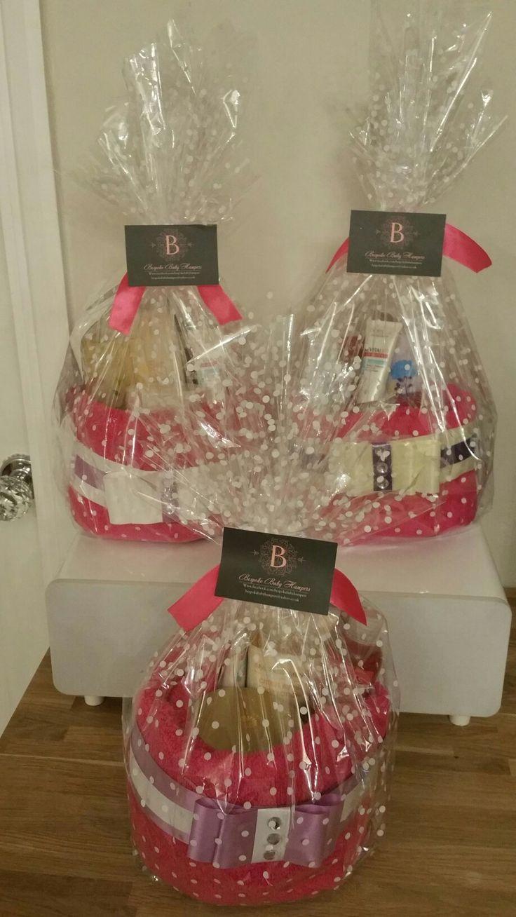 Birthday Towel Cakes , made to order. Visit www.bespokebabyhampers.co.uk #towelcake #birthday #giftideas