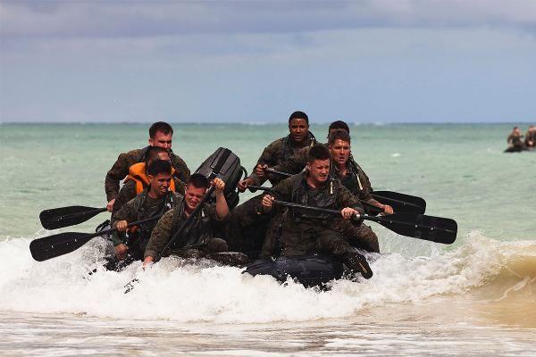 Marine RECON and MARSOC