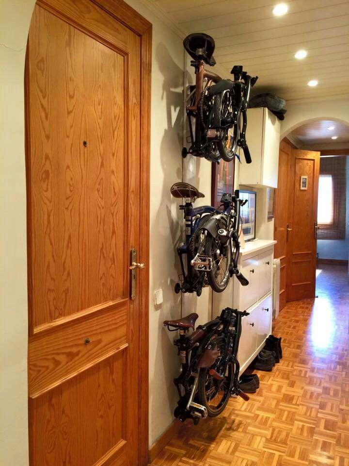 Bike storage goals
