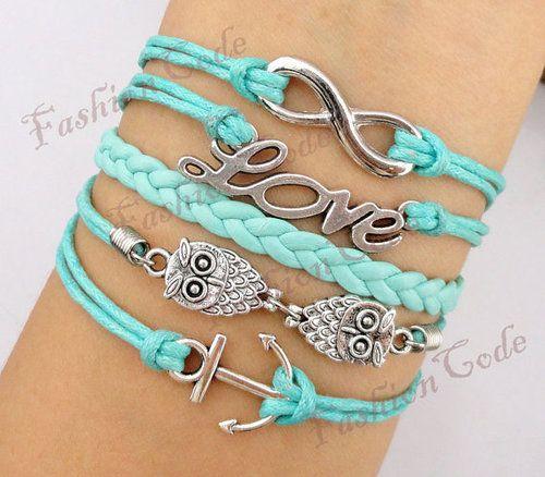 Love these colors! Definite DIY bracelets