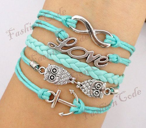 Love these colors! Definite DIY bracelets