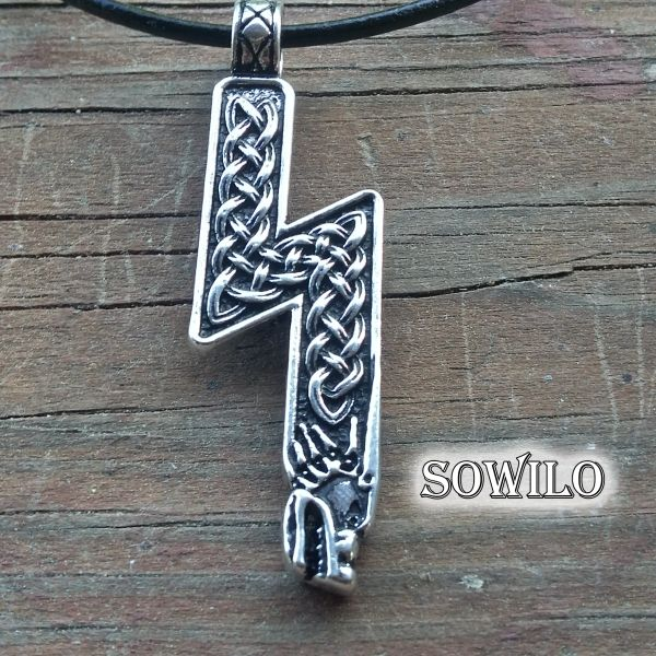 Sowilo-Rune-Necklace