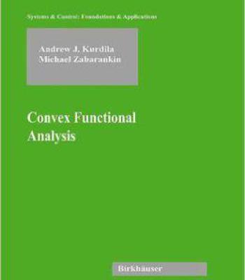 Convex Functional Analysis PDF