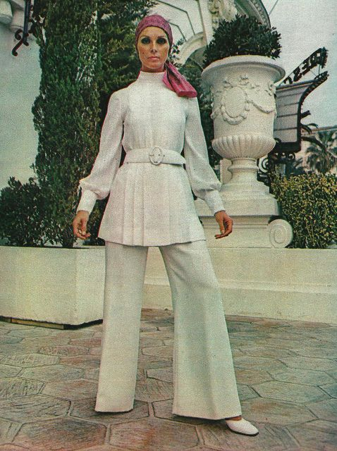 Model by:Christian Dior.French Elle,March 1970.