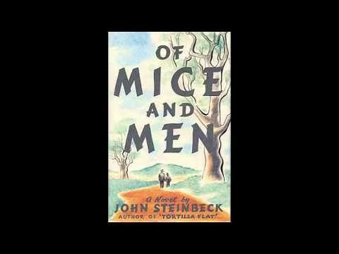 an essay on the famous novel of mice and men by john steinbeck Loneliness and friendship in steinbeck's of mice and men essay - the novel of mice and men by john steinbeck describes the life of a man and his best friend who has the mentality of a child.