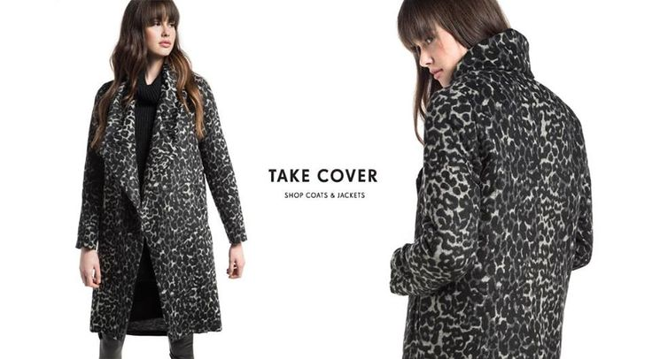 🌟Let the warmest trends, hug you!  Animal print παλτό > http://bit.ly/2hCXoJn #Helmi #outerwear #christmasloading #helmistyle