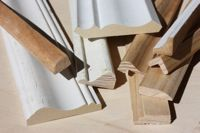 What are different trim moldings used for? Check out cove molding for wood paneling