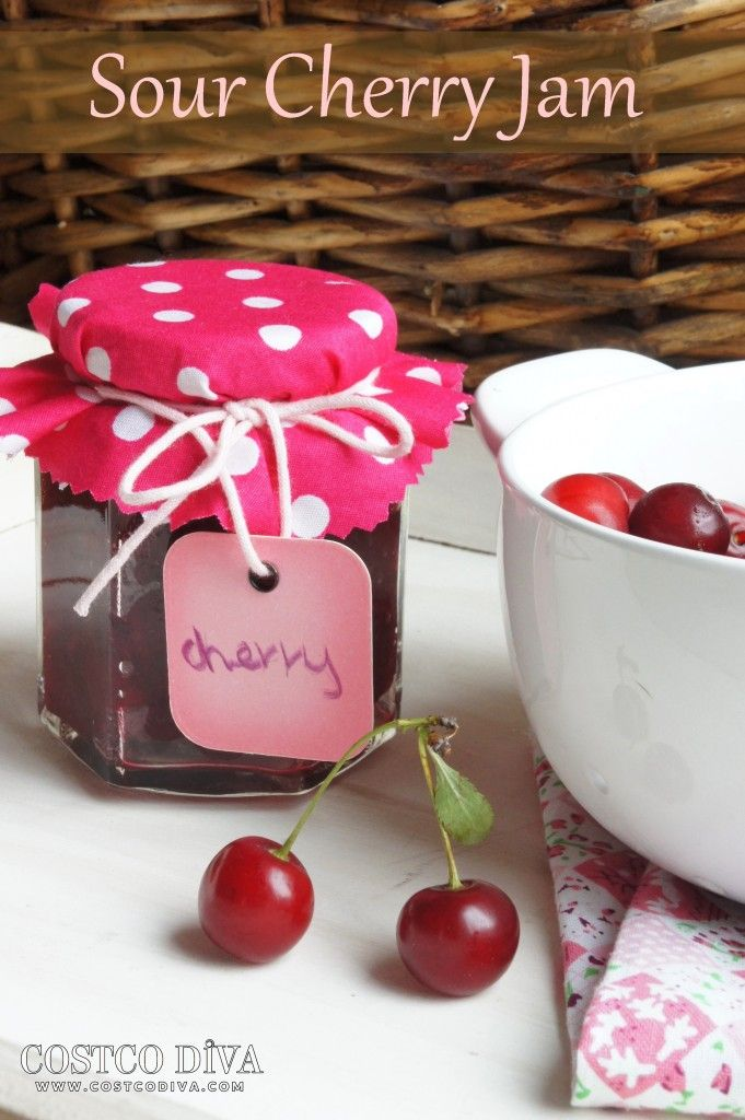 how to make sour cherry vinegar
