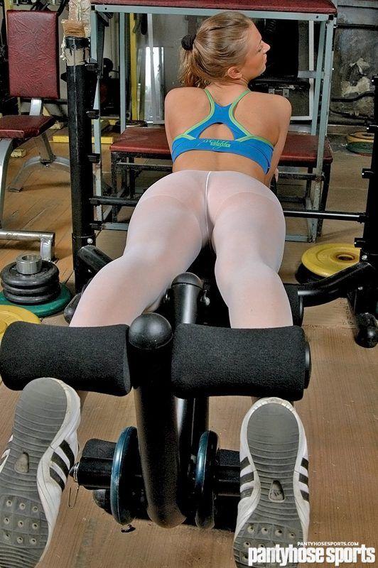 Exercises Pantyhose Porn 36