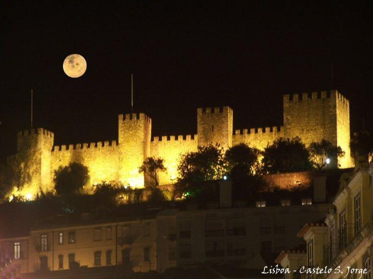 castelo de sao jorge   Postado por amiga da onça às 14:23