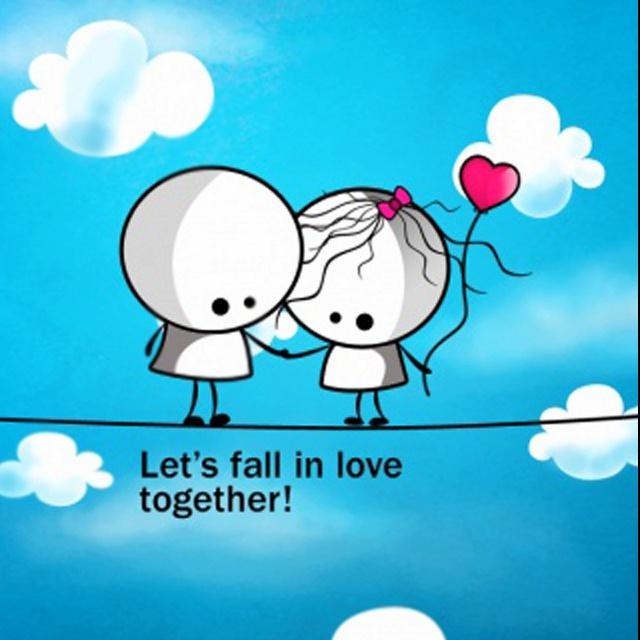 Fall in love (: