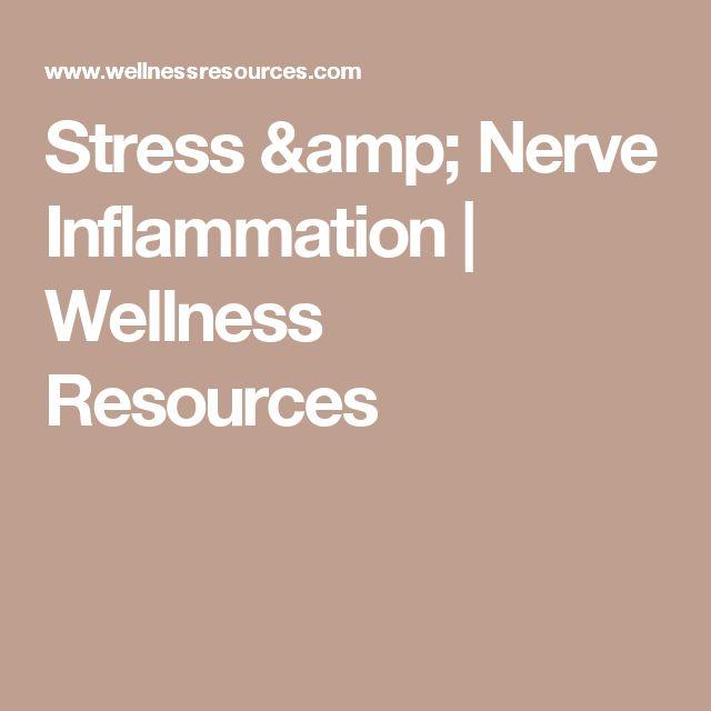 Stress & Nerve Inflammation  | Wellness Resources