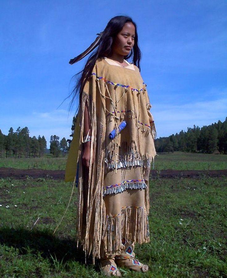 Одежда северной америки картинки