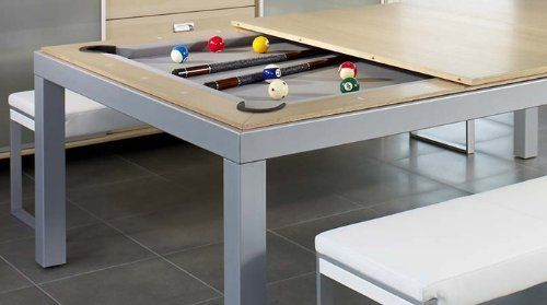 Fusion Pool Table And Dining Table by Triangle Billiards, http://www.amazon.com/dp/B006KLI492/ref=cm_sw_r_pi_dp_SEwNrb1SWDATY