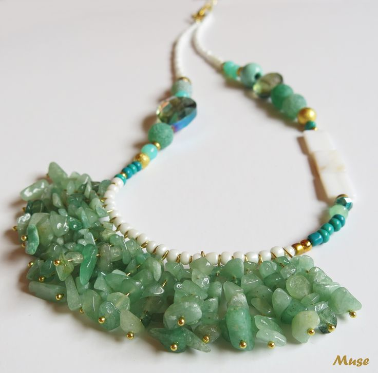 Gentle Spirit - Muse Unique Handmade Jewelry (Jade and Agate)