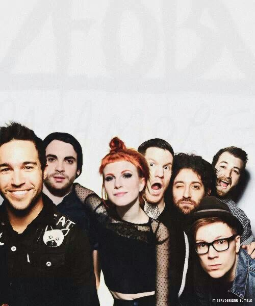 Fall Out Boy and Paramore!!!!!!! I can not wait!!! My two favorite bands finally touring with each other!!!! <3 <3 monument tour!