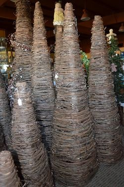 Wrapped Grapevine Trees 2 To 6 Feet Tall Handmade In