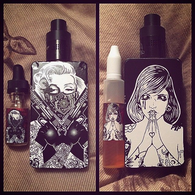 Vape - Vaping - Dampfen - Dampfe - e-zigarette - ecig - mechanical Box Mods - Dripper - Cloud Chaser - Suicide Bunny