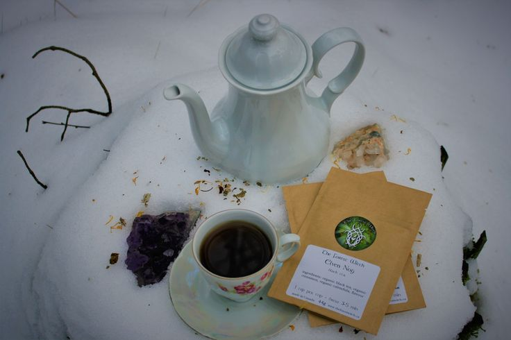 TheForestWitch makes these enchanting tea's. They are all infused with magic, and are a great asset to any Witches cabinet