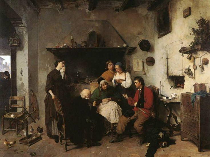 Gerolamo Induno (Italian painter, 1825-1890).