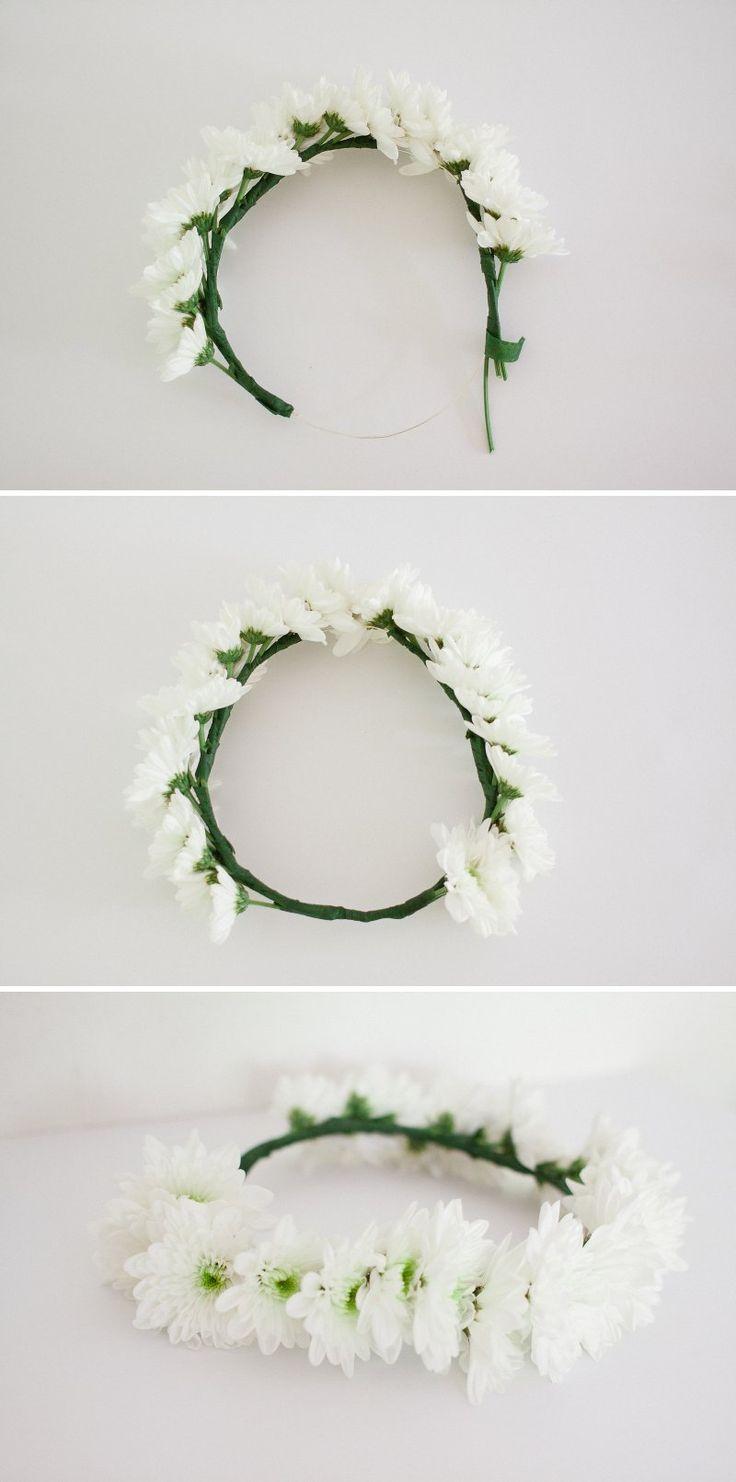 Petit Lou Blog - DIY How To Make a Flower Crown - www.petitloublog.com
