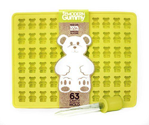 63 Cavity Silicone Gummy Bear Mold with BONUS DROPPER FOR... http://www.amazon.com/dp/B016PYL8OG/ref=cm_sw_r_pi_dp_cJ9fxb07EZDDA