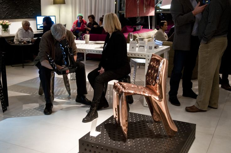 Copper Chippensteel during patterns' premiere  presentation http://zieta.pl/zieta_SEATINGS.pdf