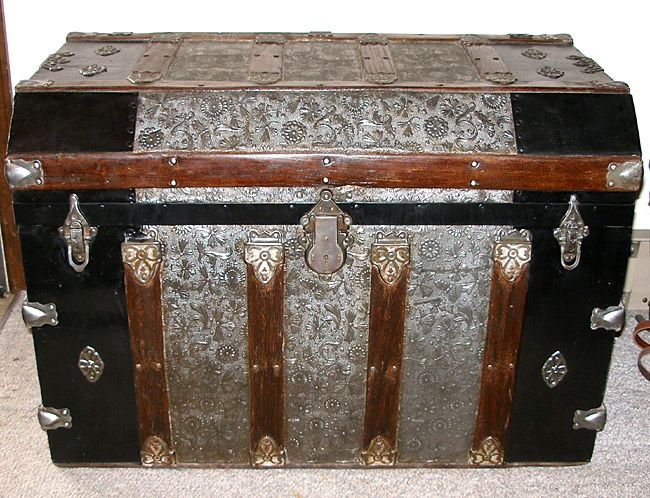 Antique Steamer Trunks of all types for sale which have been refinished