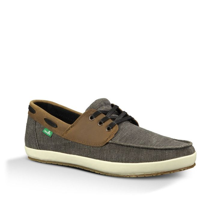 Sanuk Mens Shoes Casa Barco Vintage Black