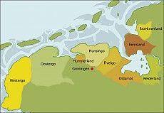 De Friese Zeelanden die in 1361 het Verbond van de Upstalboom hernieuwden