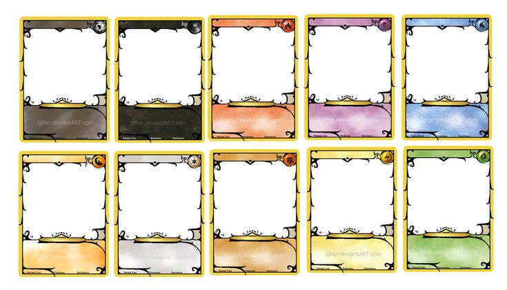 pokemon card template by iphyr on deviantart wallpaper crafty things to try pinterest more. Black Bedroom Furniture Sets. Home Design Ideas