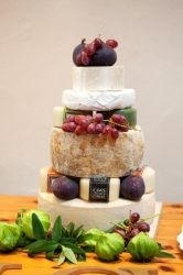 Cheese Wedding Cakes - Caws Cenarth. I'm at a loss for words.