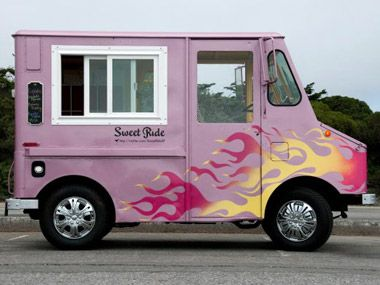 Eat from a Food Truck - there are a bunch to choose from. I really want to find the mac and cheese truck and the empanada truck! Done - got cupcakes from Flirty Cupcakes!