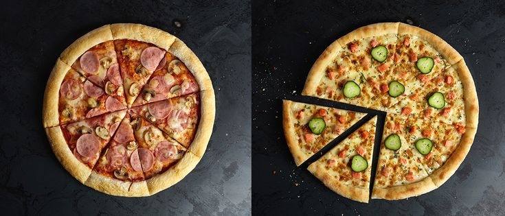 Food menu design for Pizza Hut on Behance