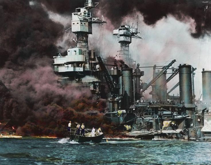 <p>En el ataque murieron 66 miembros de la tripulación del acorazado USS West Virginia. (Foto: Royston Leonard/mediadrumworld.com) </p>