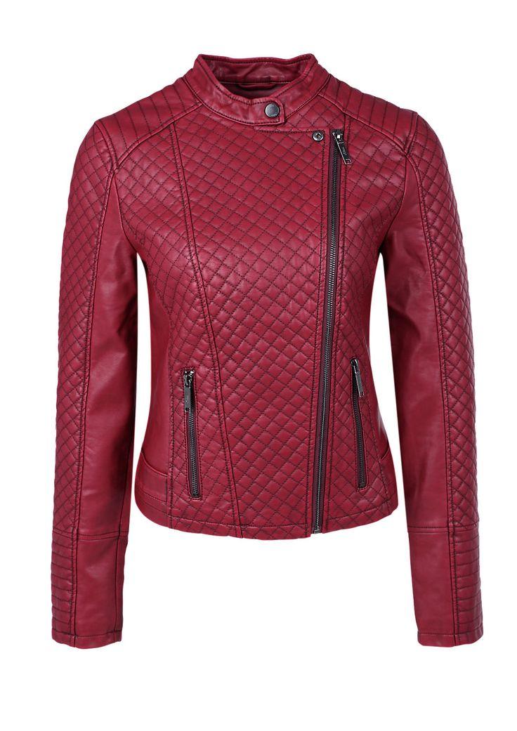 Bikerjacke mit Steppmuster von s.Oliver. Entdecken Sie jetzt topaktuelle Mode für Damen, Herren und Kinder und bestellen Sie online.