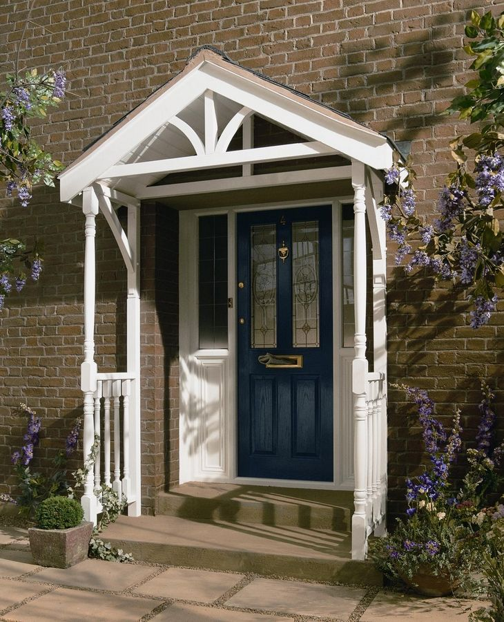 Small Front Porches On Houses: 90 Best Images About Porch And Hall On Pinterest