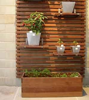 Linda horta - vertical garden apartment
