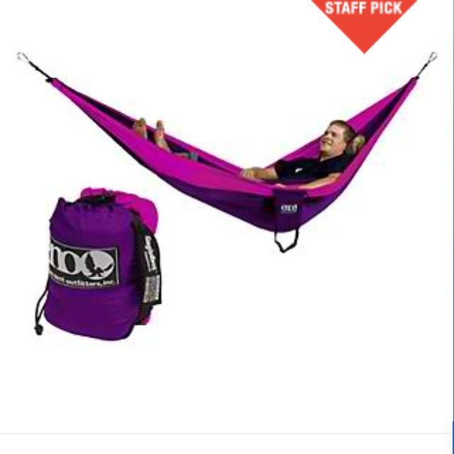 Purple And Hot Pink Eno I Wantttttt Cutesy Hammock Camping Eno Hammock