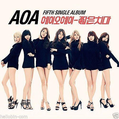 AOA - Miniskirt (5th Single Album) CD + GIFT