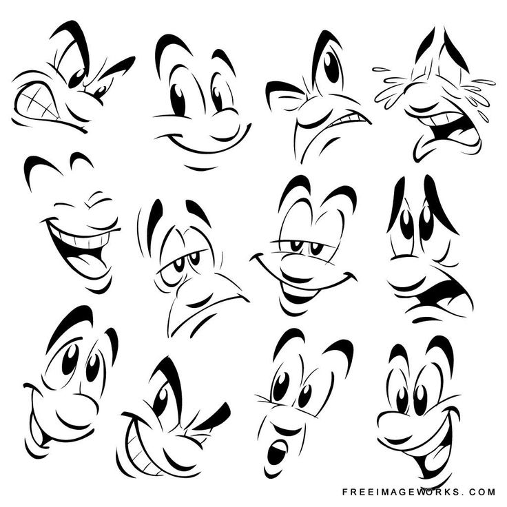 Best 25+ Cartoon faces ideas on Pinterest | Cartoon eyes ...