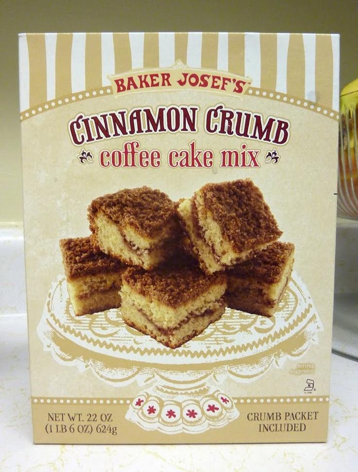 Baker Josef S Cinnamon Crumb Coffee Cake Mix