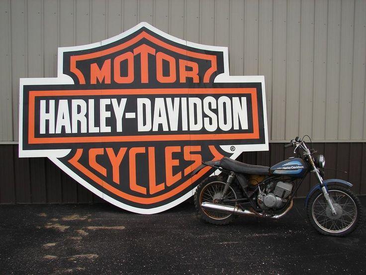 Vintage Harley Signs 76