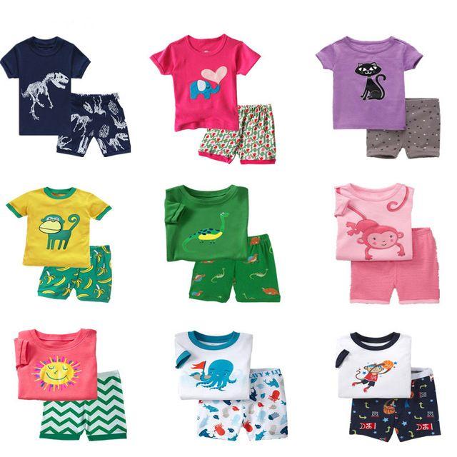 boys short pyjama sets pyjamas pajama nightwear sleepwear summer pjs