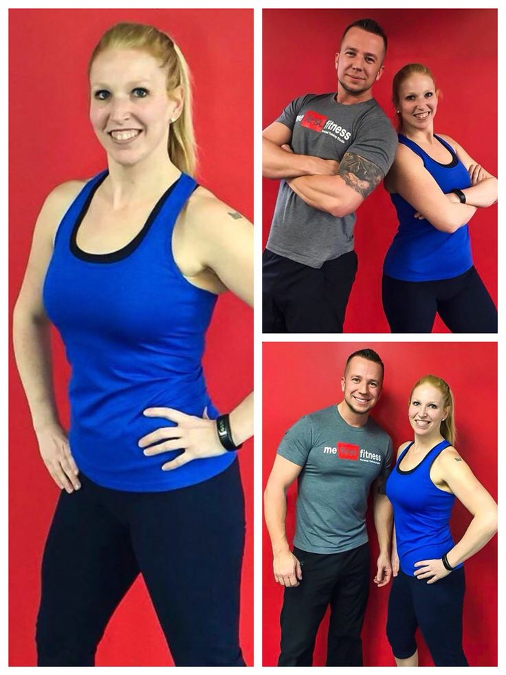 Congrats Sara! Lost 50lbs in 15 weeks! 1 Personal training sessions a week, 1 hour of exercise a day and a healthy eating plan of about 1600 calories per day.