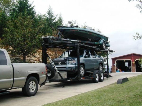 Double Deck Stacker Trailer Divorce Sale 26 Foot Boat