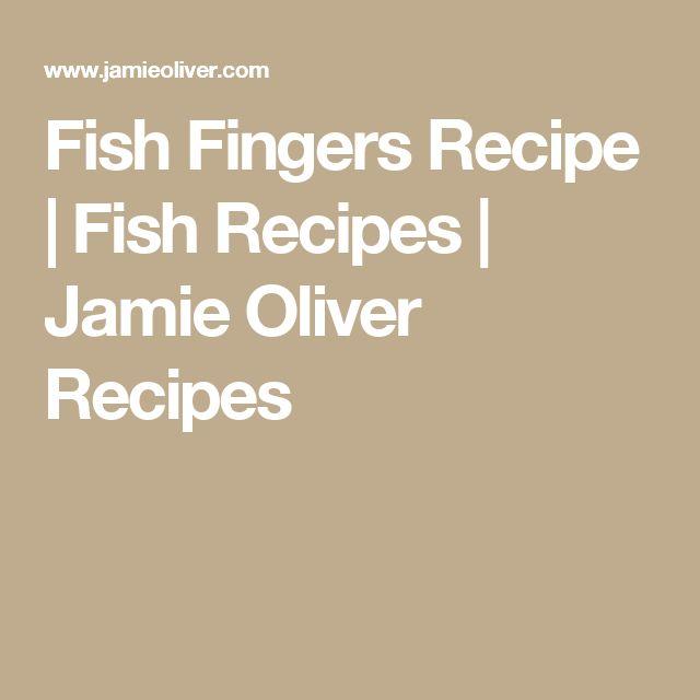 Fish Fingers Recipe | Fish Recipes | Jamie Oliver Recipes