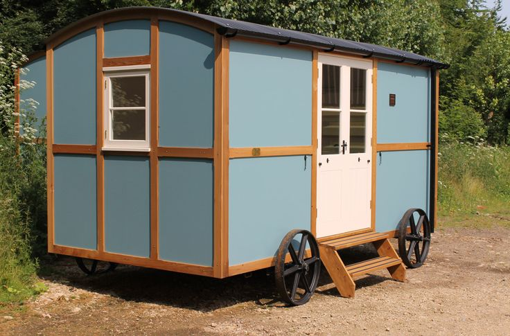 1000 images about camper ideas on pinterest gypsy caravan palomino and gypsy wagon - The mobile shepherds wagon ...
